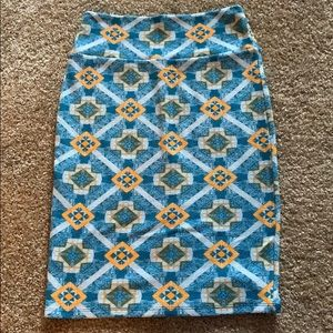 LuLaRoe argyle pencil skirt